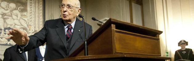 """Napolitano: """"Continuità a istituzioni"""". Delrio gela Bersani: """"Governo con il Pdl"""""""