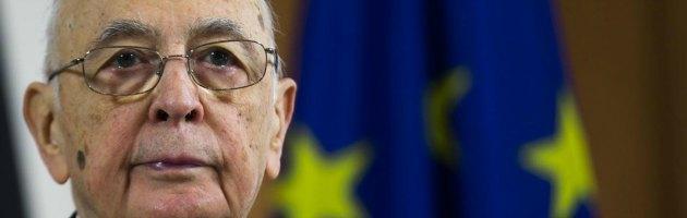 """Napolitano: """"No a governo di minoranza e a prosecuzione del mandato al Colle"""""""