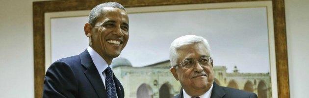 Barack Obama e Abu Mazen