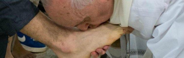 Papa Francesco - Lavanda piedi