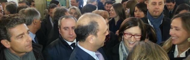 Manifestazione PDL al Palazzo di Giustizia