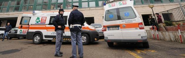 Ambulanze e polizia