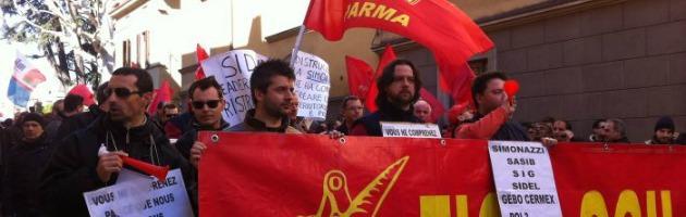Sidel Parma, in 600 marciano contro la delocalizzazione: la metà rischia il posto