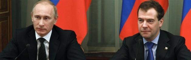 Putin e Medvedev