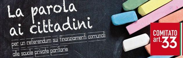 "Referendum scuola, Pd e cattolici uniti: ""Sì ai soldi pubblici per le paritarie"""