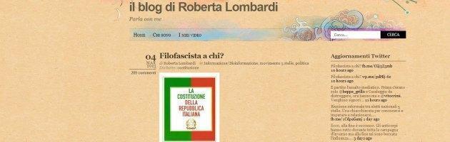 Blog Roberta Lombardi