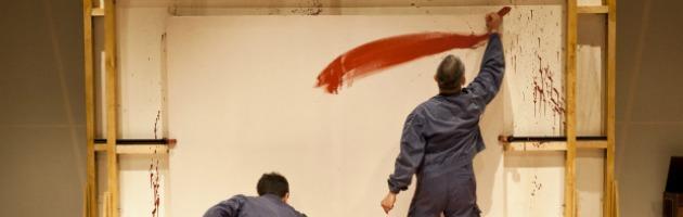 Rosso, il testo sul pittore Mark Rothko sul palco di Pubblico