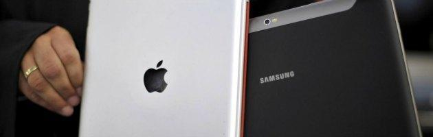 Apple iPad e Samsung Galaxy Tab 10