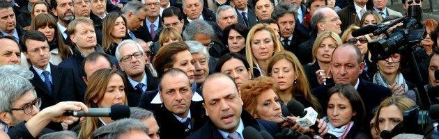 Parlamentari PDL in Tribunale