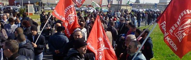 """Berco, un intero paese sciopera contro i 600 esuberi: """"La battaglia è solo all'inizio"""" (foto)"""