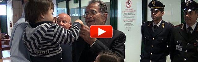 """Napolitano rieletto, Prodi: """"Non sono deluso, ma preoccupato per l'Italia"""""""