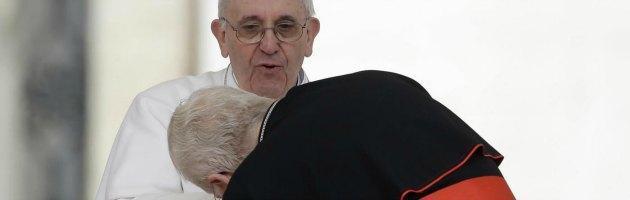 Papa Bergoglio e Angelo Scola