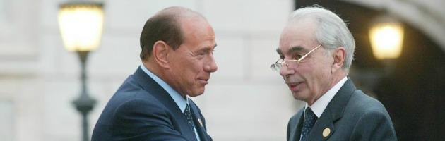 Silvio Berlusconi e Giuliano Amato