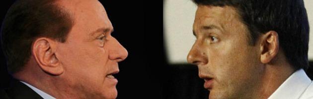 """Pd, Renzi: """"Se andiamo al voto, asfaltiamo il Pdl. Non salveremo Berlusconi"""""""