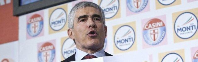 """Casini: """"Monti? Scelta sbagliata. Ora un patto tra Bersani e Berlusconi"""""""