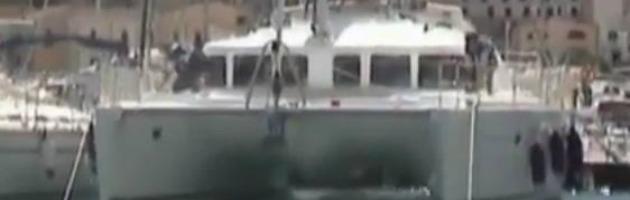 Catamarano confiscato alla mafia