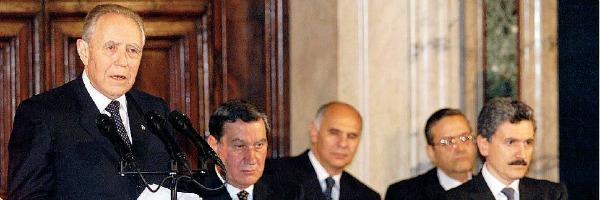 """Colle, gli 11 presidenti – Ciampi, banchiere grigio che sognava la """"moral suasion"""""""