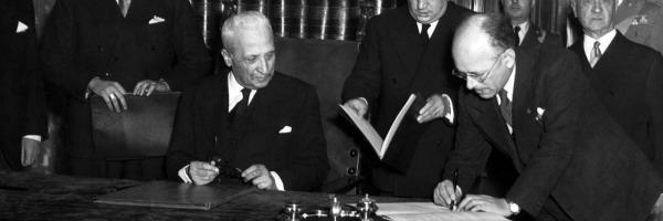 Quirinale, gli 11 presidenti – Enrico De Nicola, il monarchico col paltò rivoltato