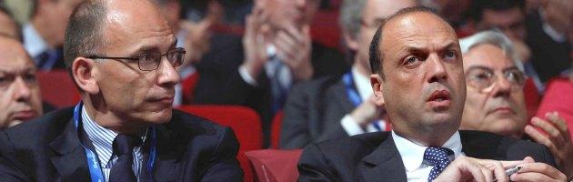 """Letta: """"Chiuso il ventennio, Alfano è leader"""". Vicepremier: """"No alle ingerenze"""""""