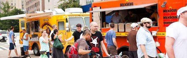 """Street food, a New York è """"food truck"""" mania"""