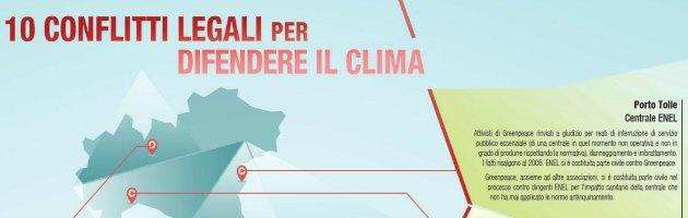 Greenpeace Mappa Centrali a Carbone
