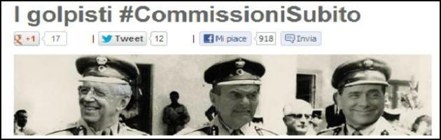 """Commissioni, Grillo attacca sul suo blog i 'partiti golpisti': """"Hanno paura del M5S"""""""