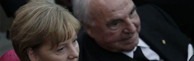 Kohl e Merkel