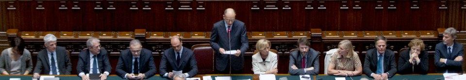 """Letta promette: """"Stop Imu a giugno Via questa legge sui rimborsi ai partiti"""""""