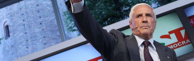 """Quirinale, Bersani annuncia: """"Marini"""". Pdl approva, il Pd esplode. Renzi attacca"""