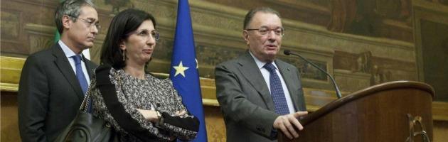 Marcella Panucci e Giorgio Squinzi