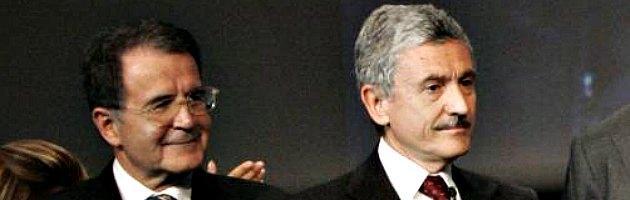 """Caos Pd, D'Alema: """"Non ho affossato Prodi"""". E lo scontro si riaccende"""