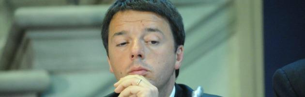 """Renzi: """"Berlusconi si candida premier? Mi piacerebbe sfidarlo"""""""