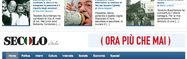 Secolo d'Italia, dove i deputati trombati hanno ritrovato lo stipendio