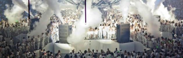 Sensation, dress code bianco per la lunga notte dance di Bologna