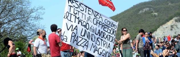 """1 maggio, sindacati e imprenditori insieme. Fiom: """"Noi andiamo con gli operai Berco"""""""