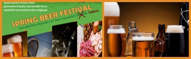 Spring Beer Festival: a Roma degustazioni all'insegna delle bionde artigianali