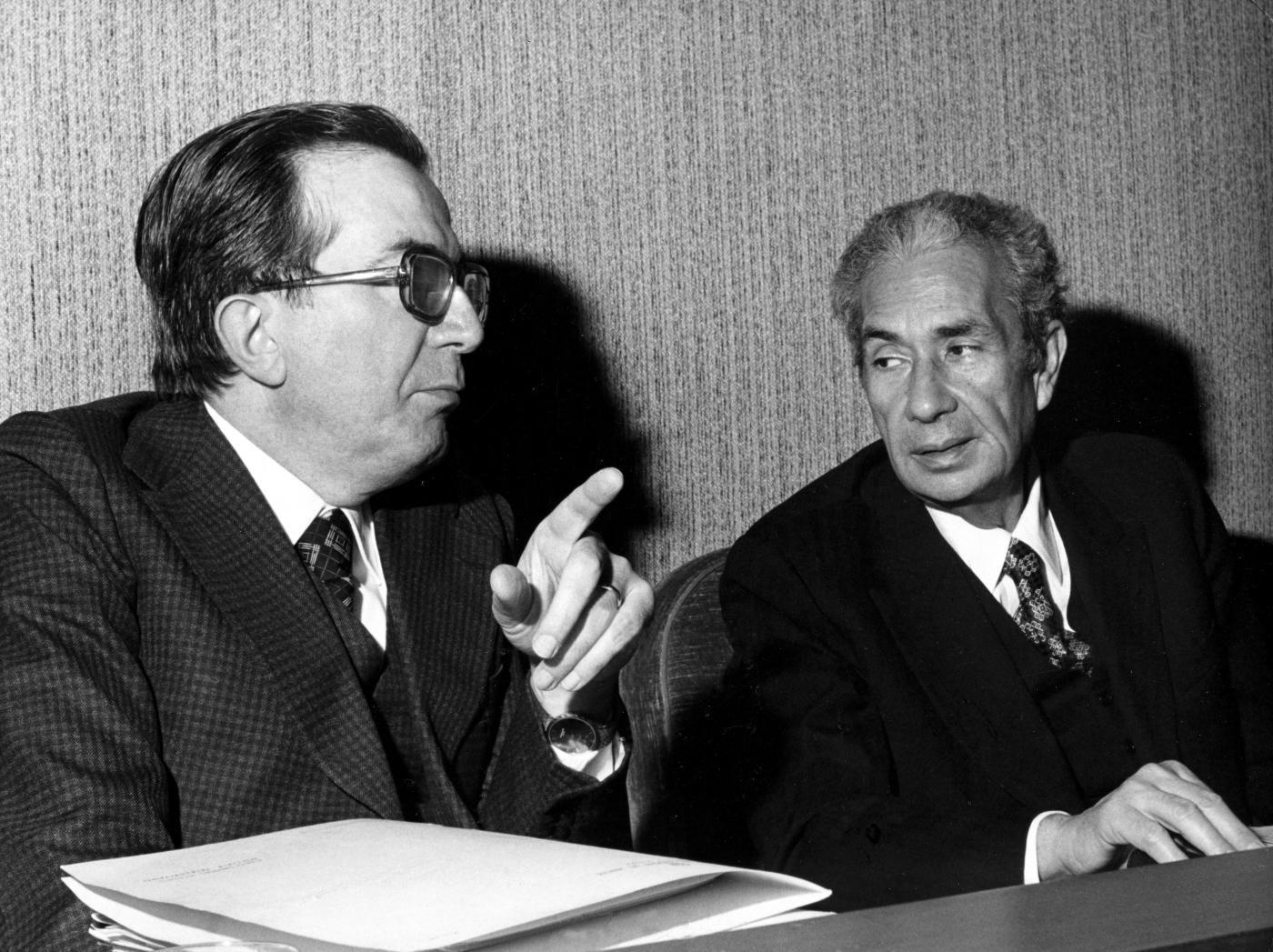 Con Aldo Moro