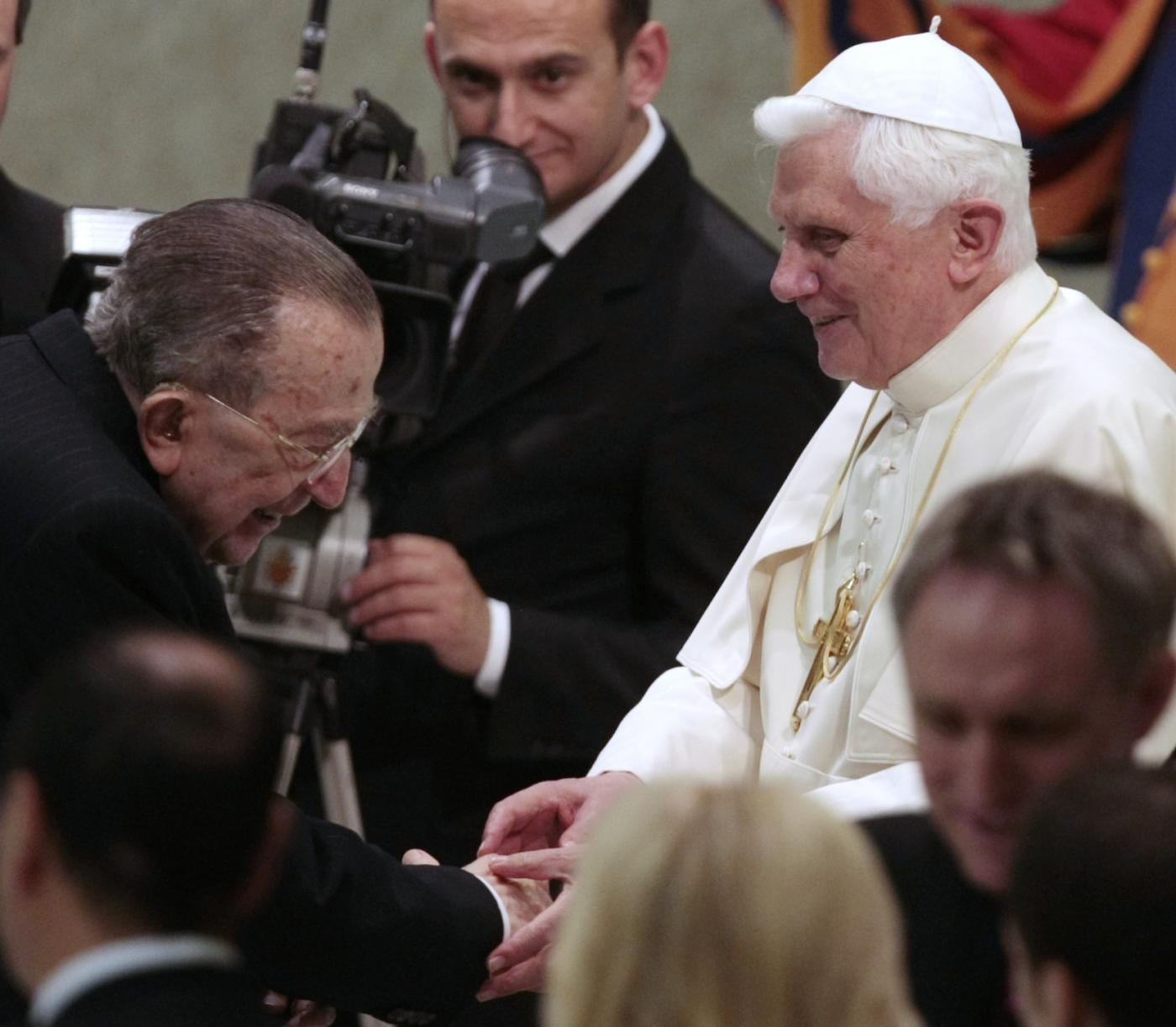 Con Benedetto XVI - 2009