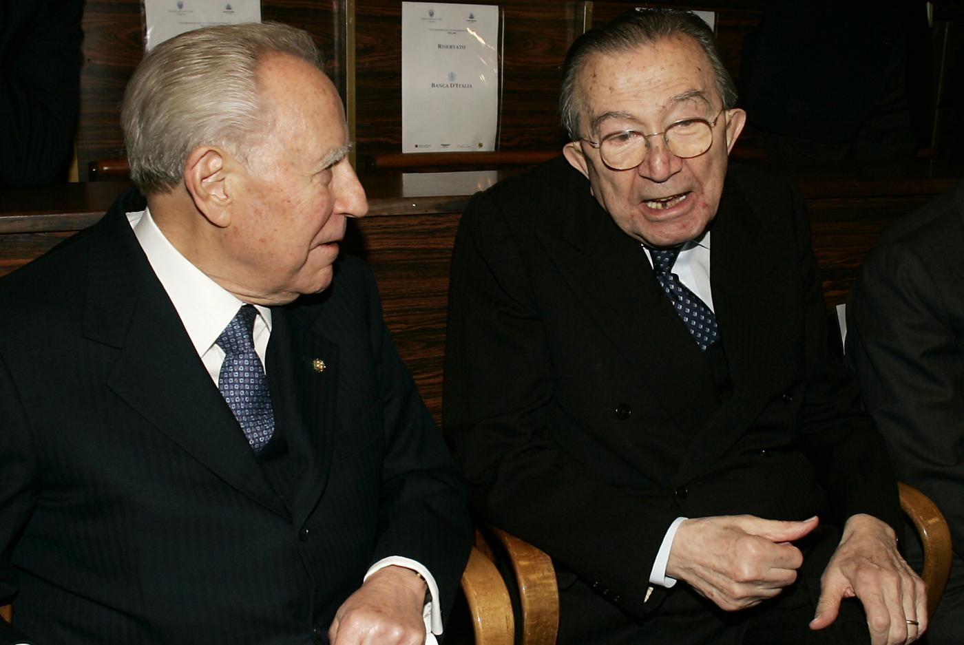 Con Carlo Azeglio Ciampi - 2006