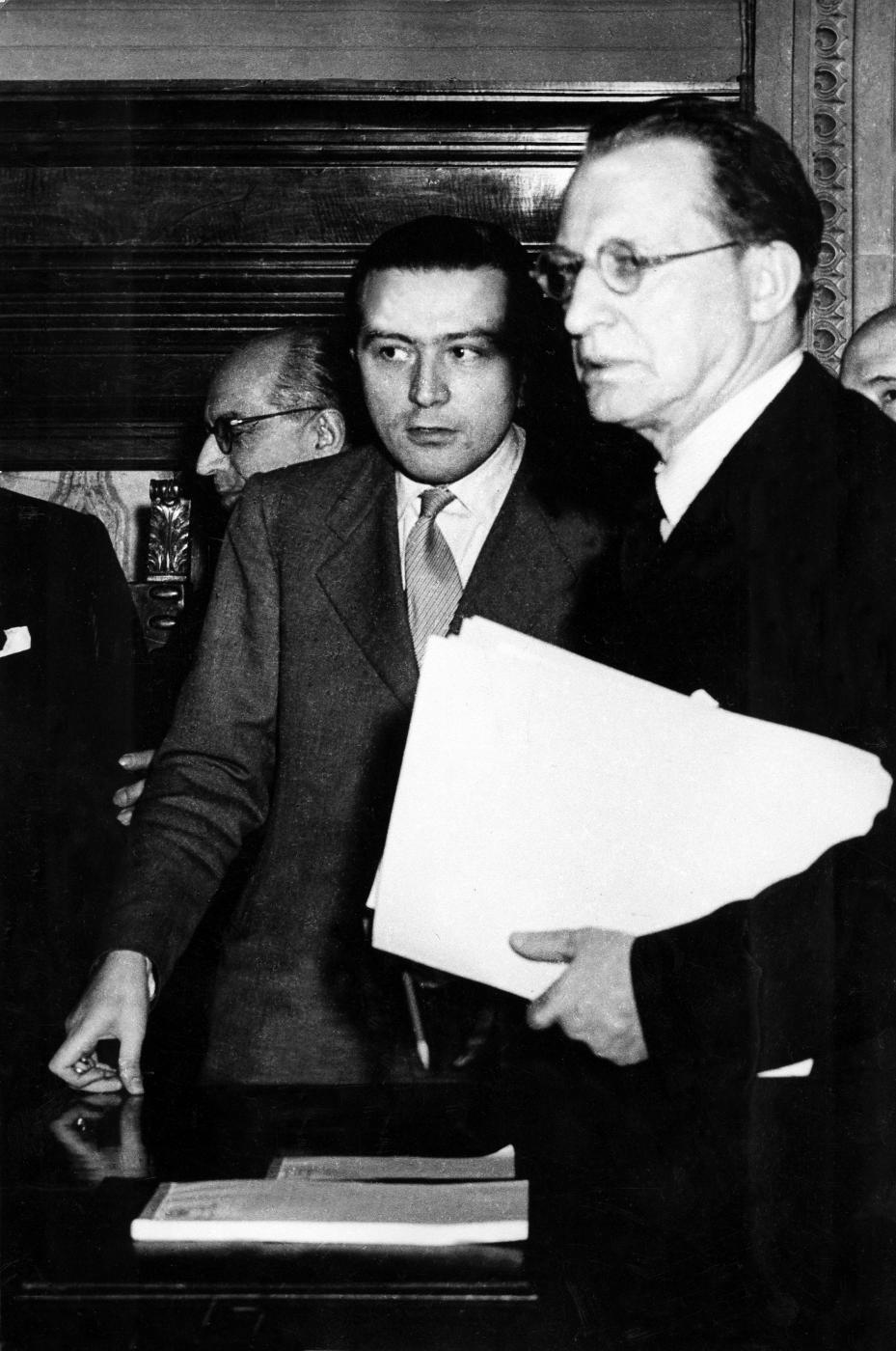 Con De Gasperi - 1947