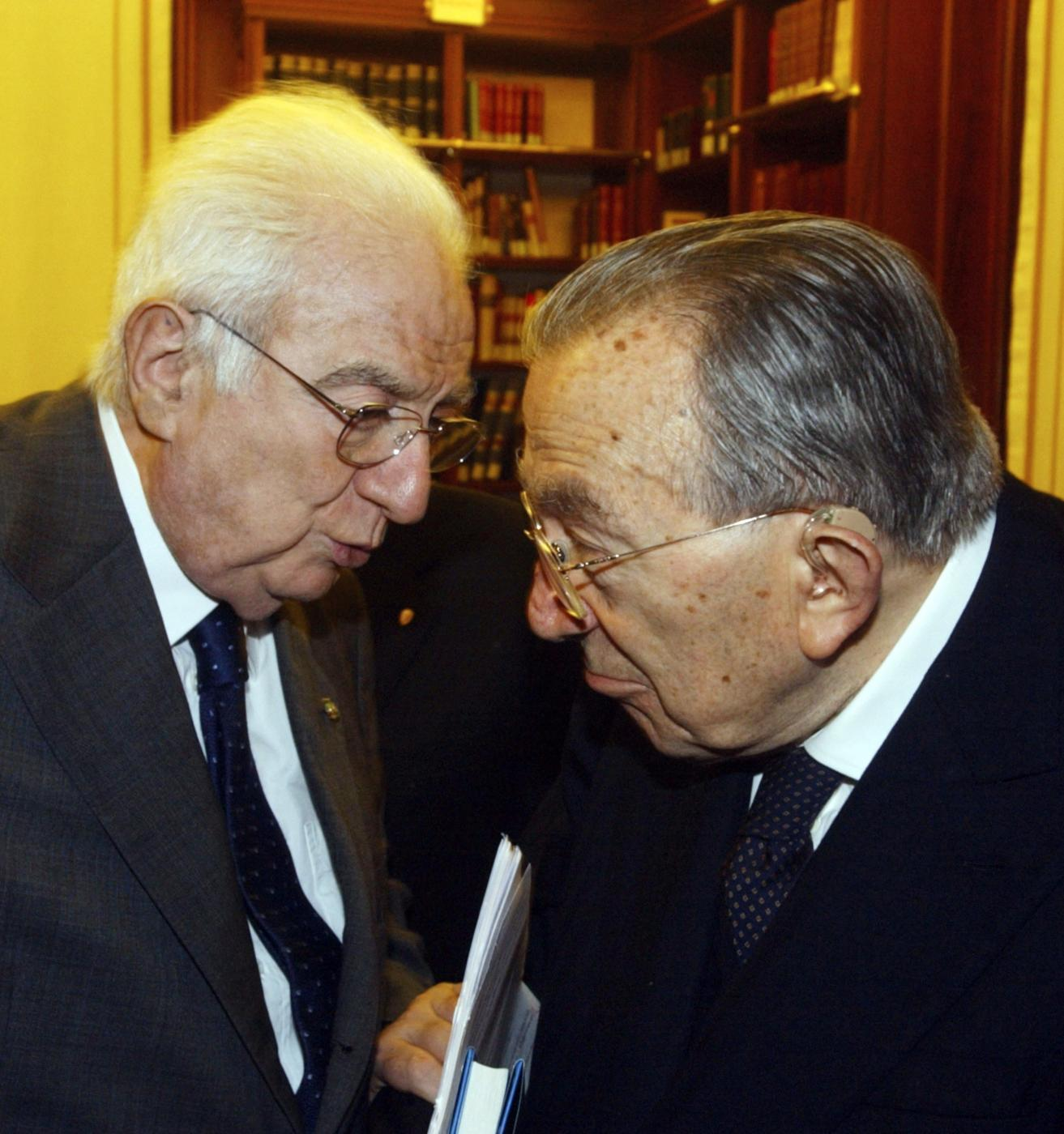 Con Francesco Cossiga - 2005