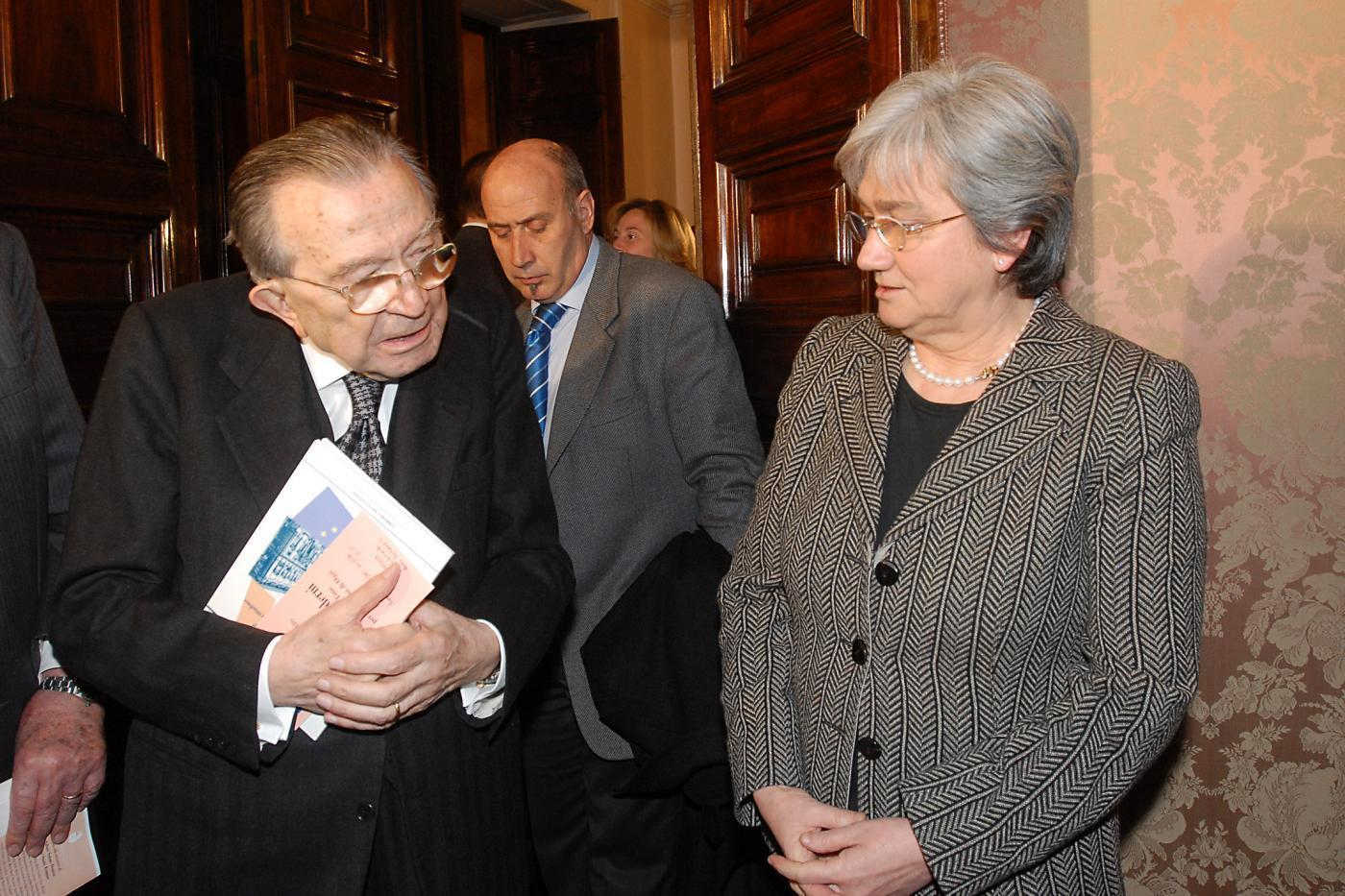 Con Rosy Bindi - 2007