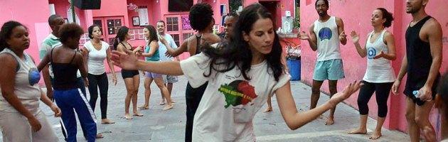 Fabiana in Brasile