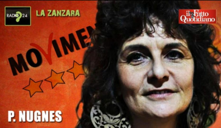 """M5S, Cruciani vs Nugnes: """"Non faccio parte di nessun disegno politico"""""""