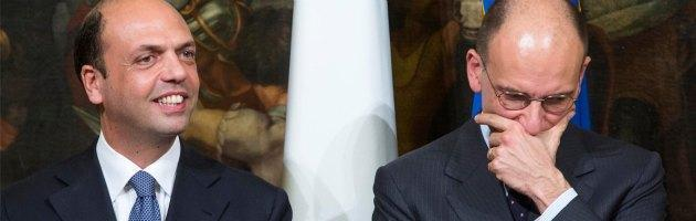 """Manifestazione Pdl, polemica su Alfano. Letta: """"Il Pd sta con i magistrati"""""""