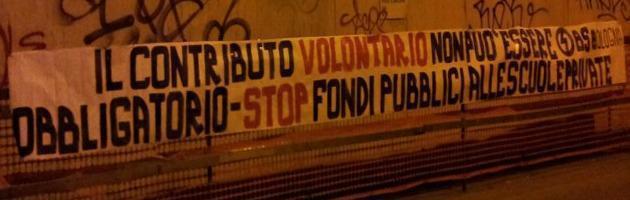 """Referendum, Casapound con Sel e 5 Stelle: """"Vogliamo una scuola pubblica e laica"""""""