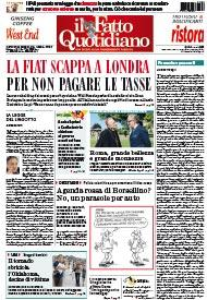 Il Fatto Quotidiano - Prima Pagina