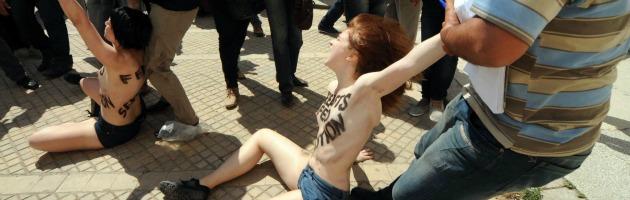 Protesta Femen Tunisi