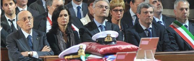 Funerali Incidente Porto di Genova