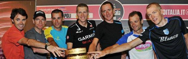 Giro d'Italia 2013, al via da Napoli. Favoriti Nibali e Wiggins, assente Ivan Basso